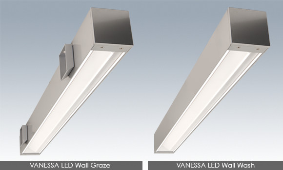 Birchwood Lighting Vanessa Led Wall Graze Wash