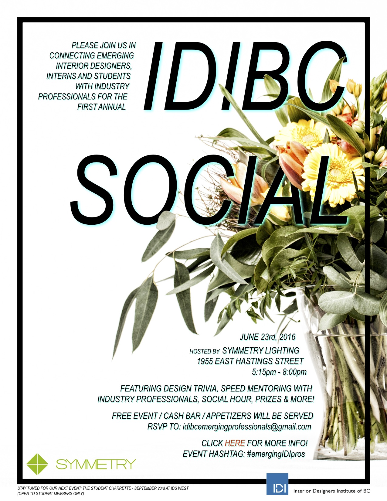 IDIBC SOCIAL Poster With Links